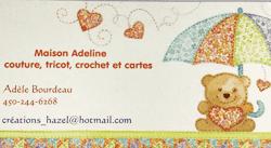 Adèle Bourdeau- Créations Hazel